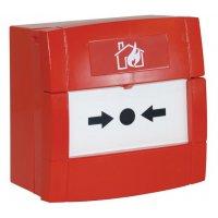 Déclencheur manuel d'alarme à membrane déformable