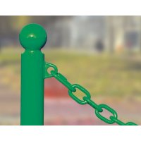 Maillons rapides pour accrocher une chaîne aux poteaux PFC
