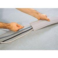 Protège-câbles d'intérieur monobloc en PVC