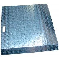 Rampe d'accès en aluminium pour usage intensif