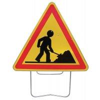 Panneau de signalisation travaux