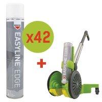 Kit de marquage au sol 42 bombes de peinture époxy + 1 traceur Easyline®