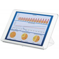 Support transparent pour tablette tactile