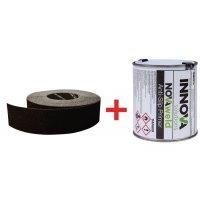 Kit rouleaux antidérapants - Puissance moyenne + 1 pot de primaire