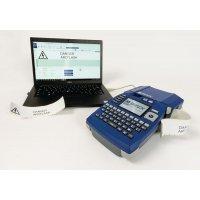 Kit étiqueteuse portable Brady BMP51 et logiciel de création d'étiquettes