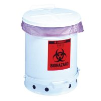 Poubelles en métal Biohazard
