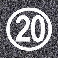 Marquage au sol thermoplastique - Zone 20