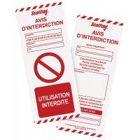 Inserts pour support d'inspection échafaudages