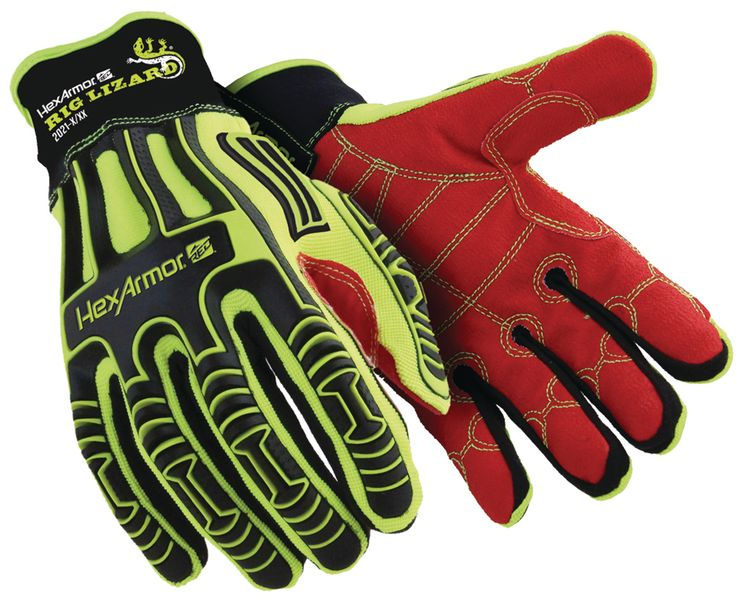 Gants de manutention renforcés HexArmor® Rig Lizard Polyco®