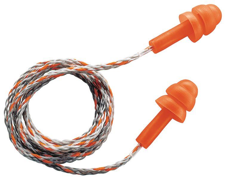 Bouchons d'oreilles réutilisables avec cordellette Uvex Whisper - 23 dB
