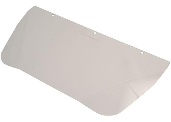 Visière pour casque de protection, polycarbonate ou acétate