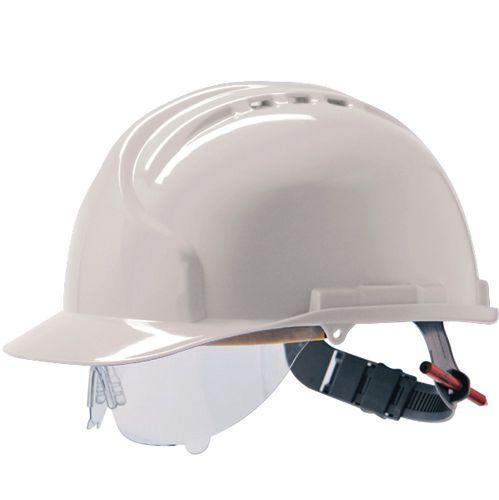 Casque de protection JSP® MK7® avec des lunettes de protection intégrées