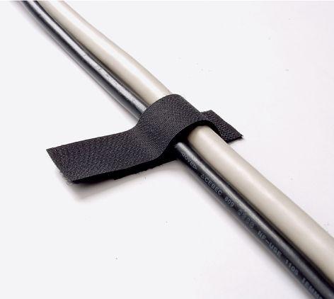 Attaches de câbles adhésives à scratch