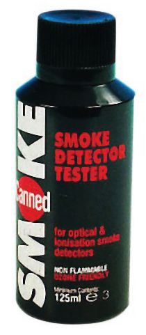 Aérosol manuel pour le contrôle de détecteurs de fumée