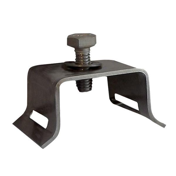 Module de fixation pour panneaux plats