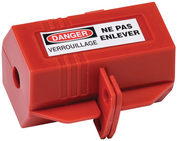 Boîtier de condamnation de prises électriques