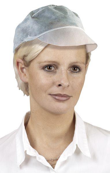 Charlotte de protection avec visière, casquette résille