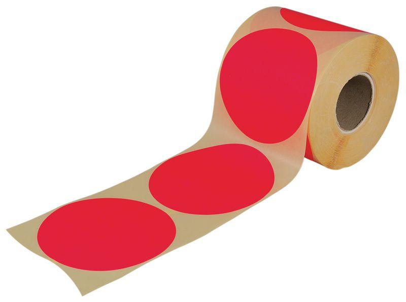 Pastilles vierges en papier multi-usages colorées