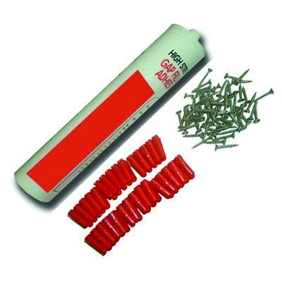 Kit de fixation pour nez de marche antidérapants Haute-Visibilité