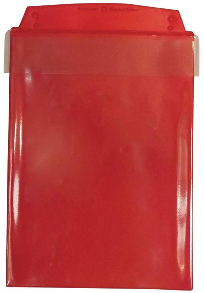 Pochettes de protection transparentes à tiges métalliques