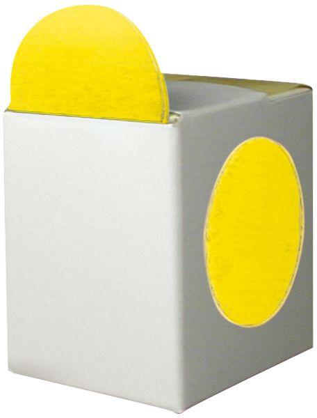 Pastilles adhésives en boîtes distributrices