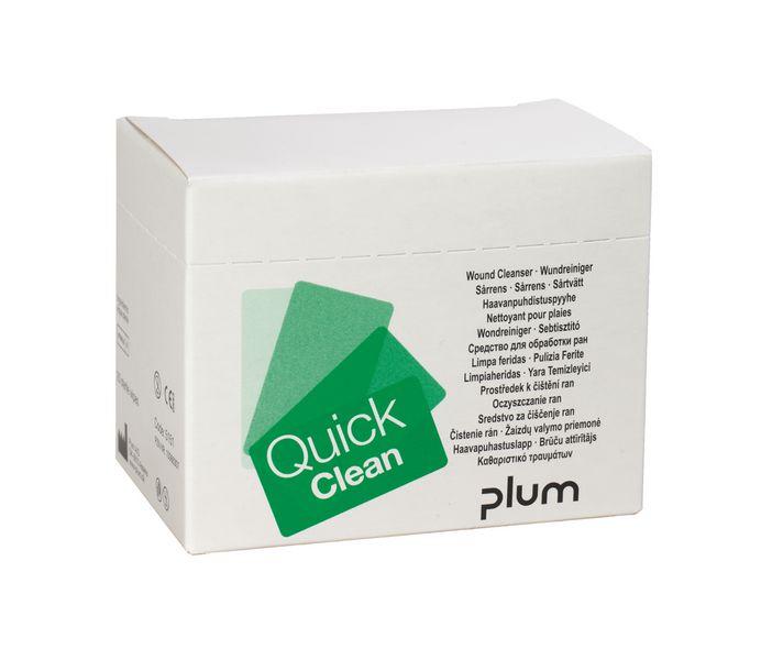 Lingettes nettoyantes Quicksafe