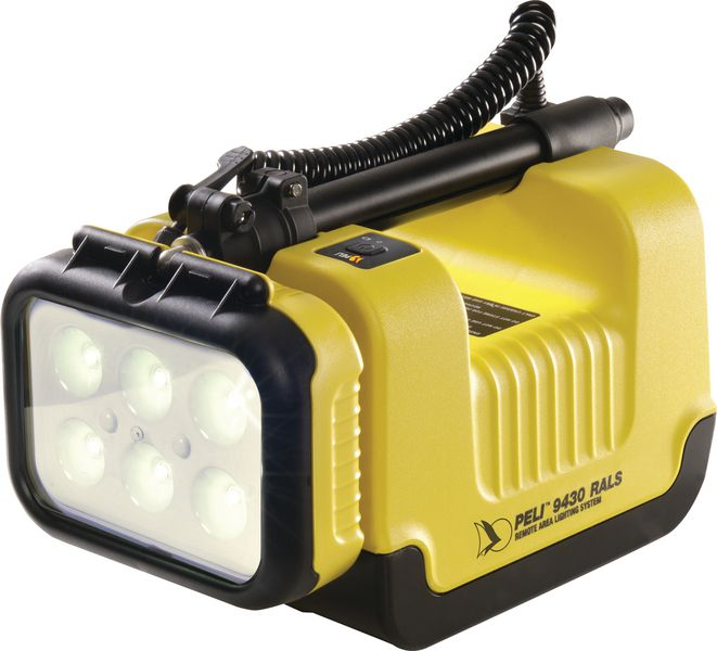 Lampe torche projecteur à 1 tête d'éclairage PELI™