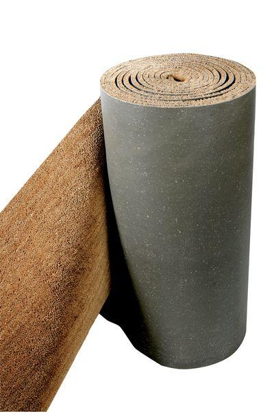 Tapis brosse en fibres de coco naturelles en rouleau complet