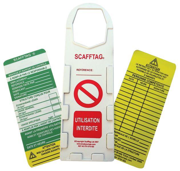 Kit support d'inspection spécial échafaudage avec inserts