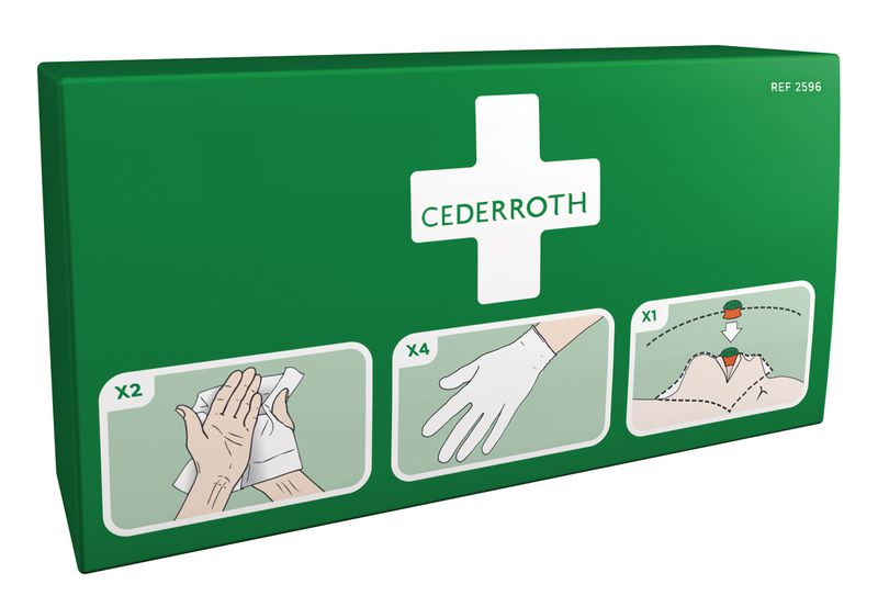 Recharge kit écran pour tableau premiers secours