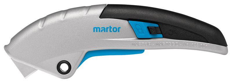 Cutter à gachette avec lame rétractable automatique et lames de rechange