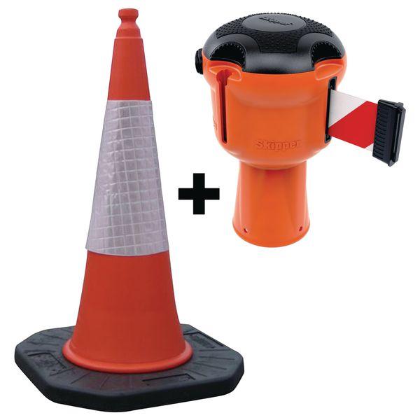 Kit Skipper™ rétractable + cône de chantier