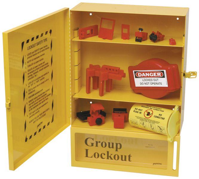 Station de consignation avec contenu et boite de consignation