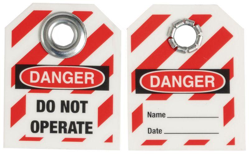 Mini étiquettes de consignation à oeillet TagLock™