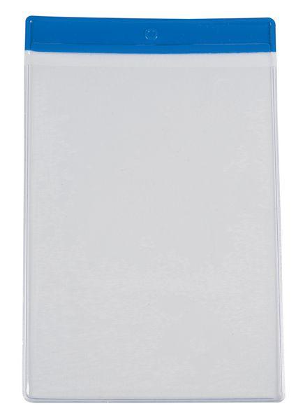 Pochettes d'inspection colorées A4, A5 et A6 avec œillet de fixation