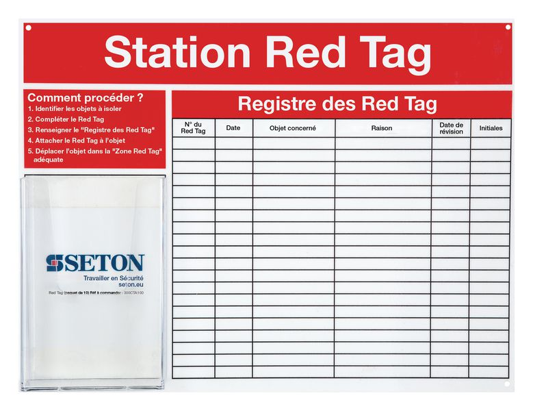 Stations Red Tag