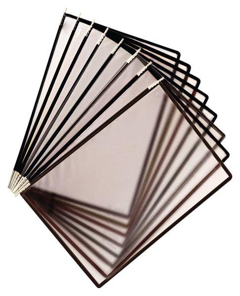 Pochettes de protection antimocrobiennes inox pour pupitre ou support mural