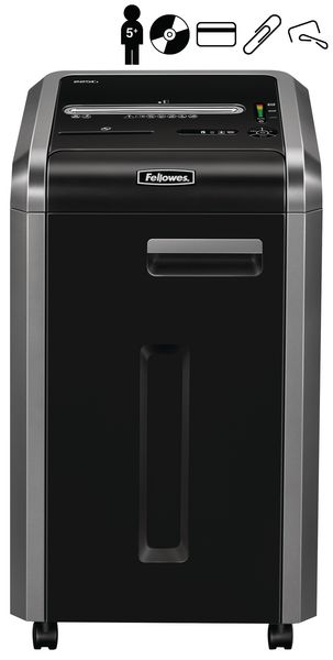 Destructeur de documents Fellowes 225Ci - 5 personnes - P-4 - 60 l