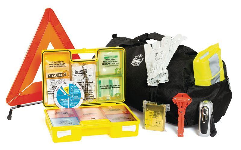 Kit complet d'urgence pour véhicules