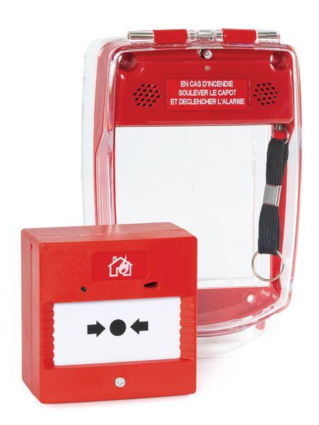 Kit alarme autonome et capot de protection