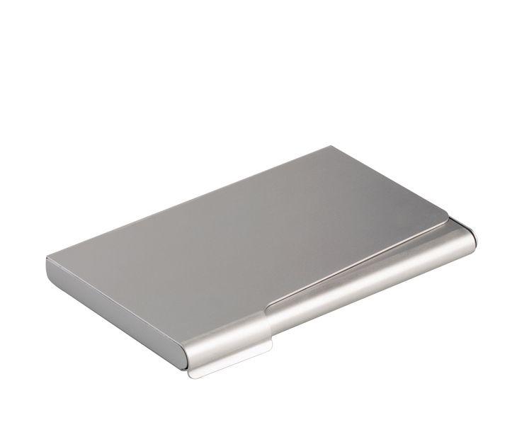 Porte cartes de visite en aluminium