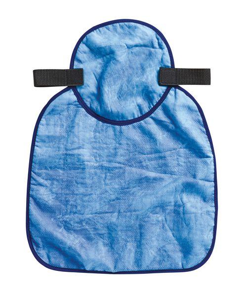Cache nuque rafraîchissant bleu pour casque