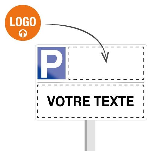 Panneaux Places de parking réservées personnalisables en ligne