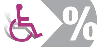 Les chiffres et différents types de handicap en France