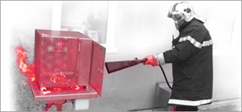 Matériel et formation incendie en entreprise