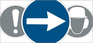 Les panneaux de circulation