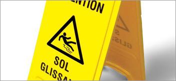 Prévention des risques : les chutes de plain pied