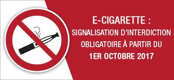 Cigarette électronique : le point sur l'interdiction de vapoter