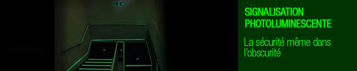 Signalisation photoluminescente  