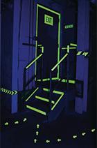 signalétique evacuation photoluminescente